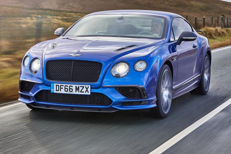 a Bentley car