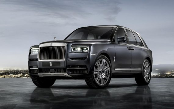off-roader Rolls-Royce