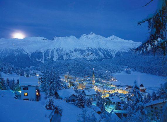 швейцарский курорт