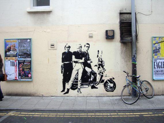 уличный художник бэнкси